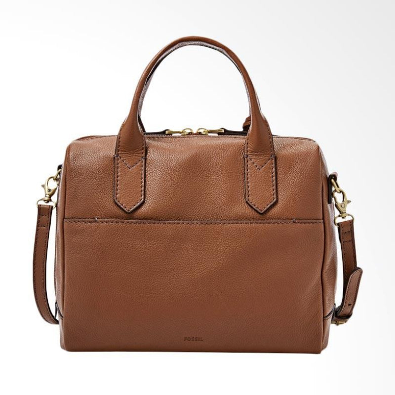 Fossil Zb7268210  Fiona Satchel Medium Brown