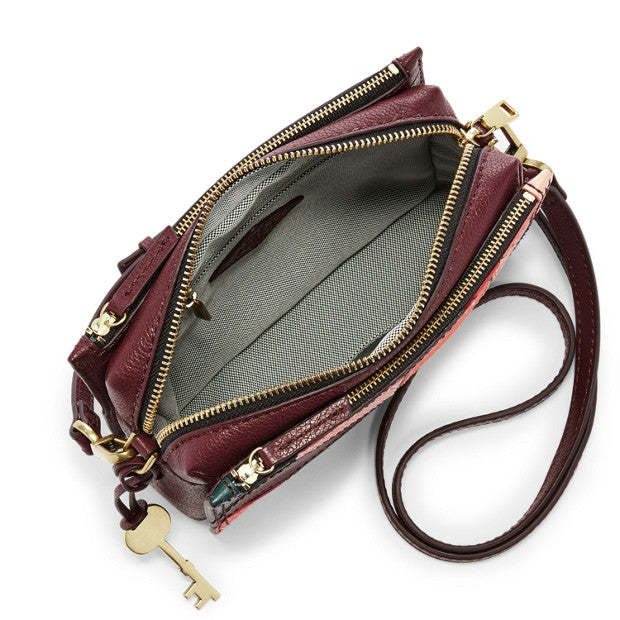 Fossil Zb7402998 Campbell Crossbody Patchwork