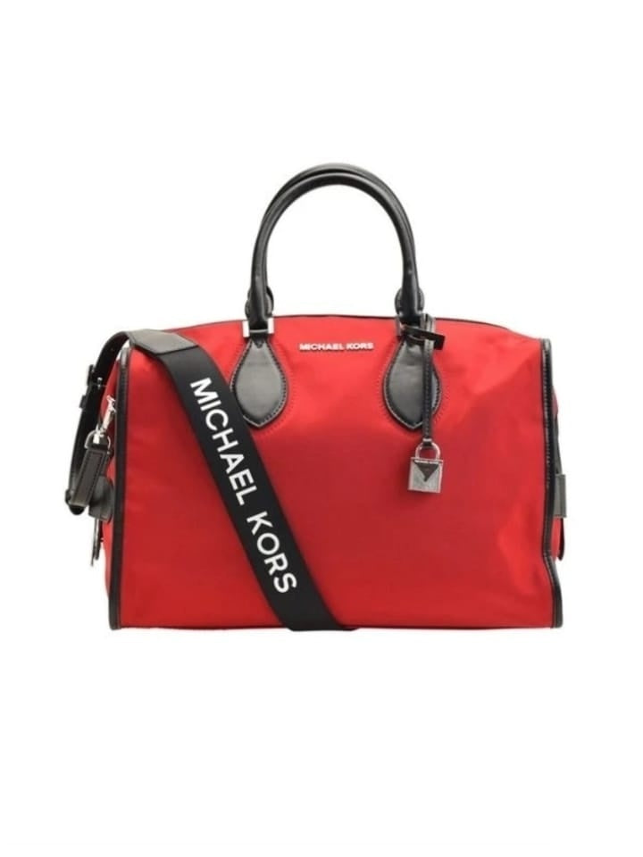 Michael Kors 35S9SI7S7C Connie Large Duffle Bag Chili