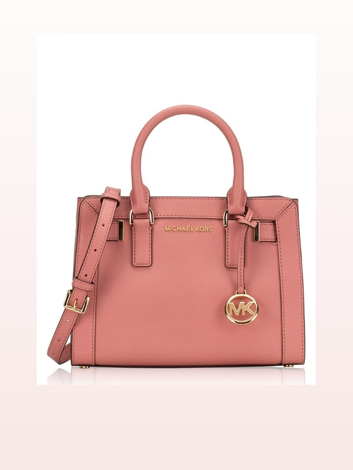 Michael Kors 35T7GAIS1L Dillon Small Satchel Rose