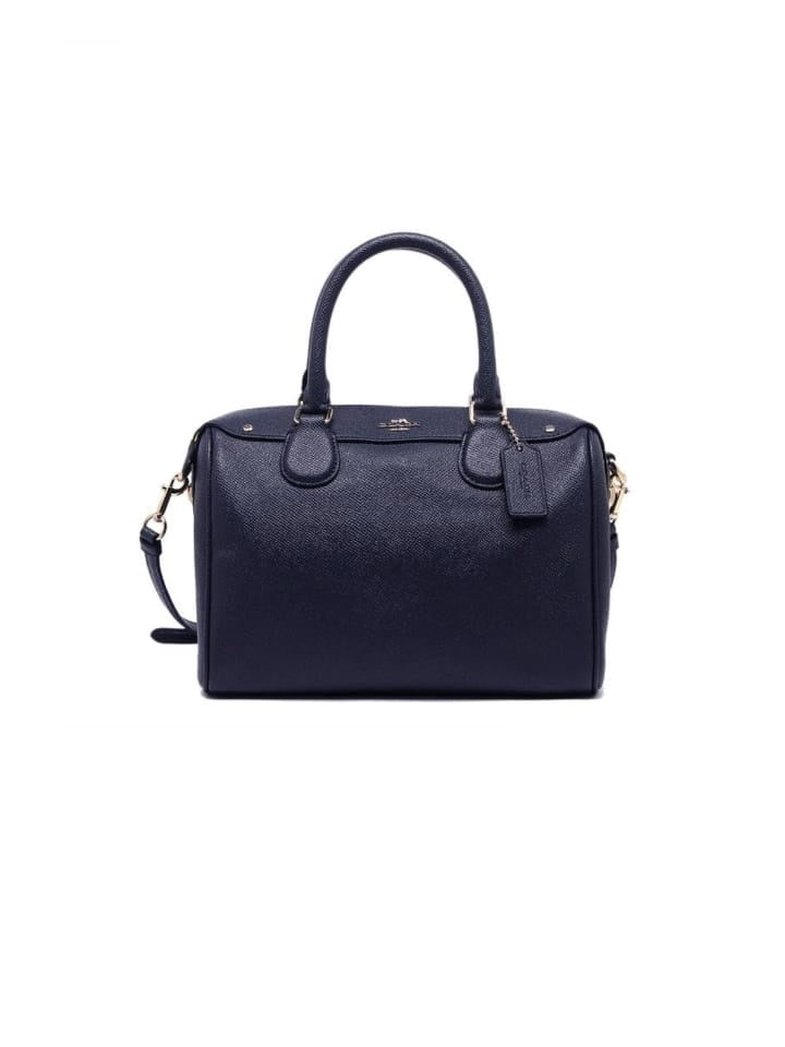 Coach 57521 Crossgrain Mini Bennett Satchel Midnight