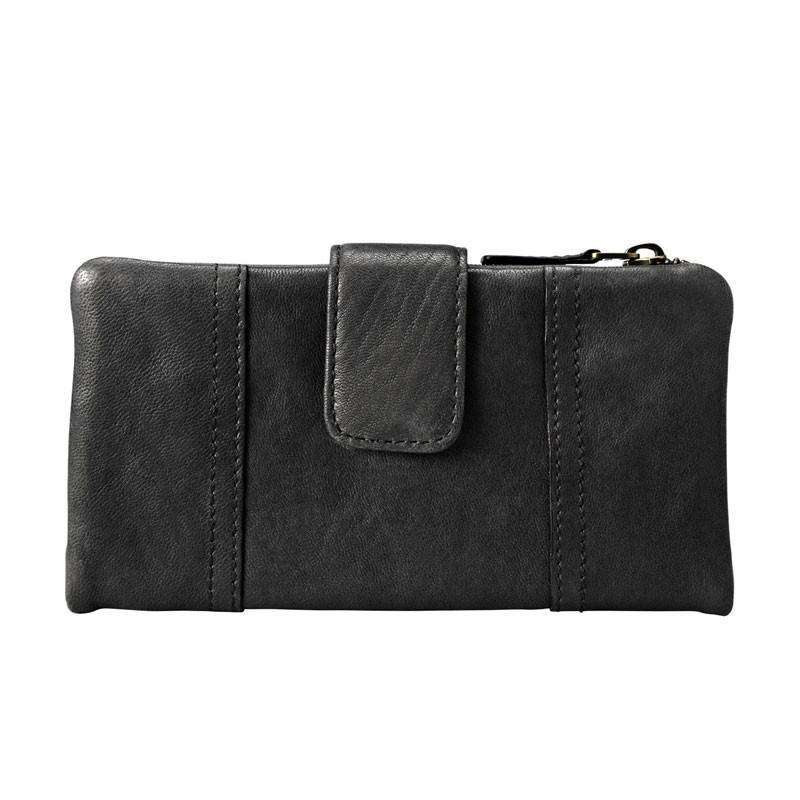 jam-Sl2931001-Fossil Emory Clutch In Black Leather-Balilene