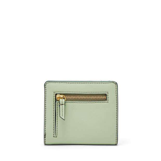 jam-Sl7150336-Fossil Emma Rfid Mini Purse Wallet Light Sage-Balilene