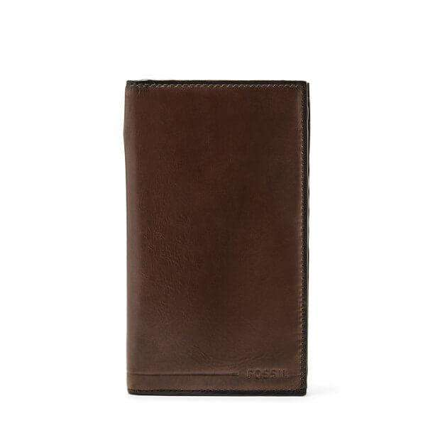 jam-Sml1553201-Fossil Allen Slim Executive Dark Brown-Balilene