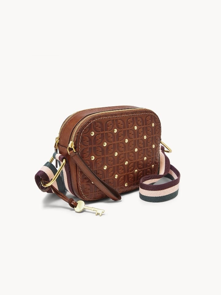 Fossil ZB7837-914 Elle Crossbody Brown Multi
