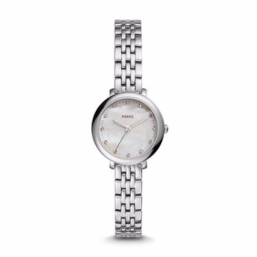 Fossil Es4029 Jacqueline Mini Mother Of Pearl Dial Ladies Watch
