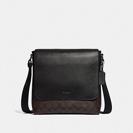 Coach F28575 Charles Signature Brown Black