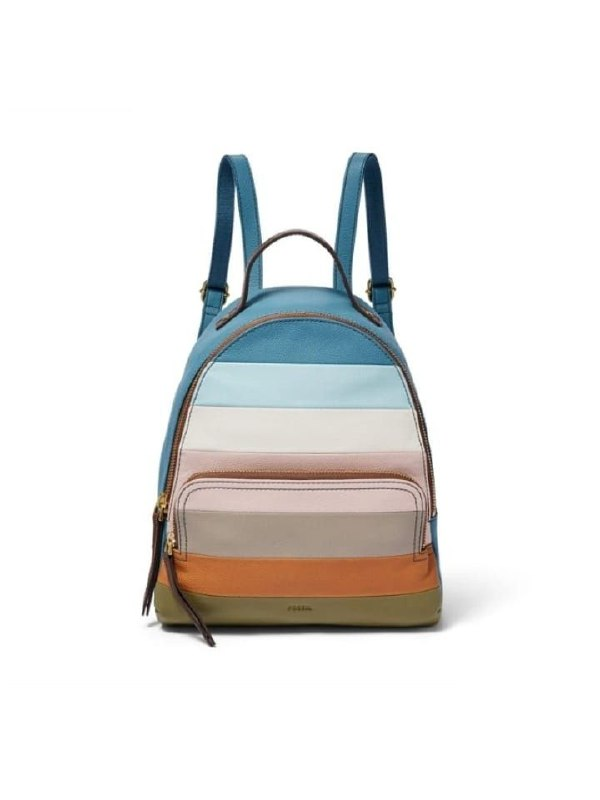Fossil SHB2158875 Felicity Backpack Colorfull Stripes