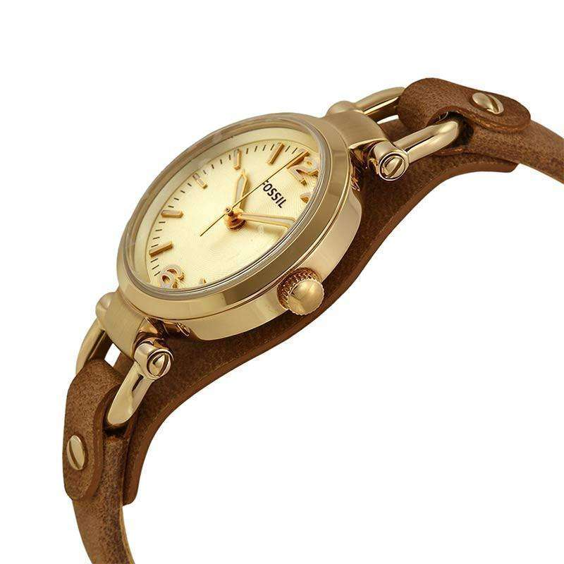 jam-ES3264-Fossil Georgia Mini Brown Leather-Balilene