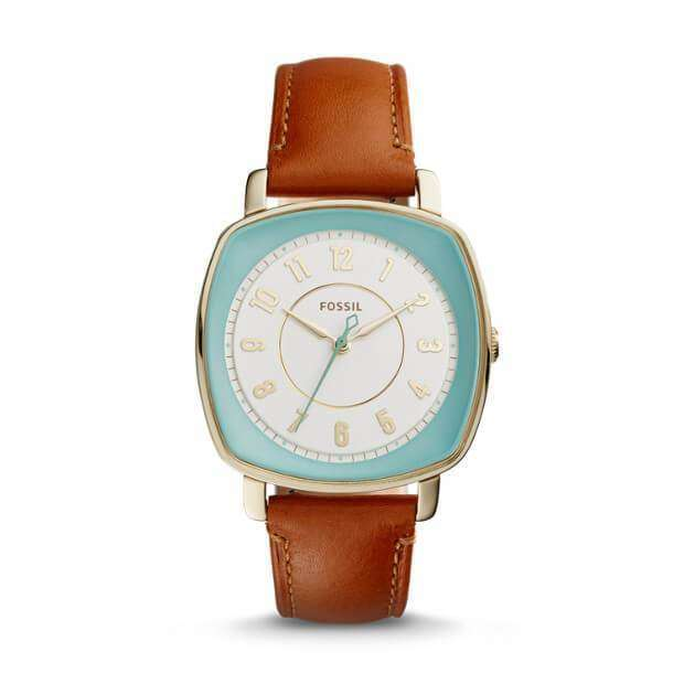 jam-Es3996-Fossil Idealist Light Brown Leather Watch-Balilene