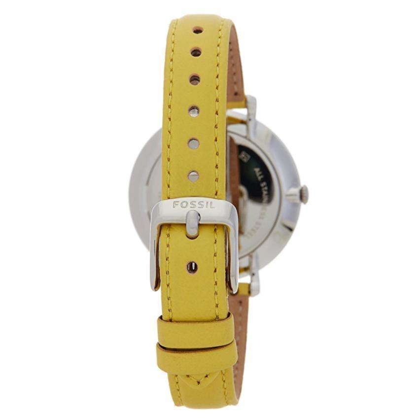 jam-ES4091-Fossil Jacqueline Robot Leather Yellow-Balilene