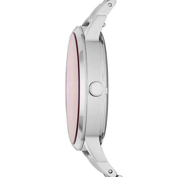 jam-Es4167-Fossil Vintage Muse Three-hand Pink Mother Of Pearl Watch-Balilene