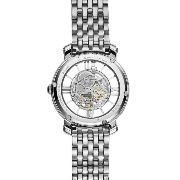 jam-Me3059-Fossil Curiosity Automatic Stainless Steel Watch-Balilene