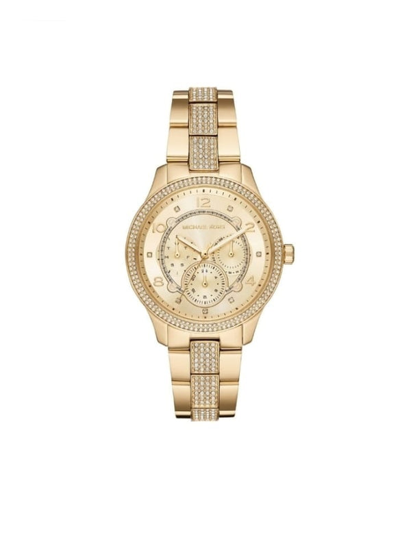 Michael Kors MK6613 Runway Women Golden Steel Watch