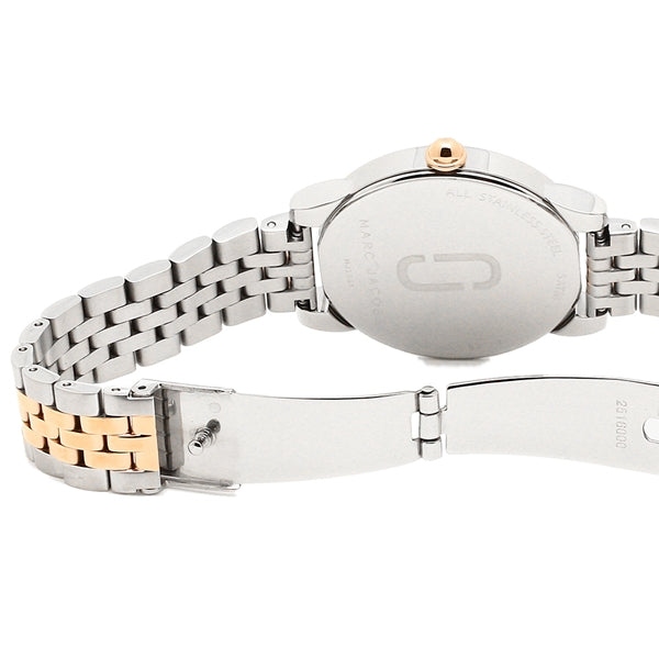 Marc Jacobs MJ3561 Corie Silver Rose Gold Watch