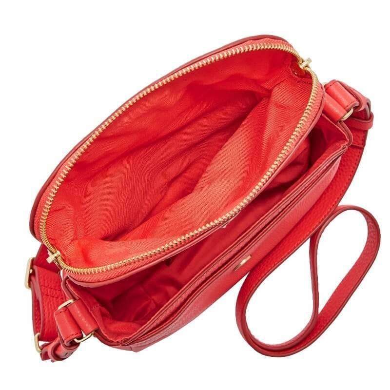 tas-ZB5873616-Fossil Preston Small Flap Cross Body Bag Tomato-Balilene