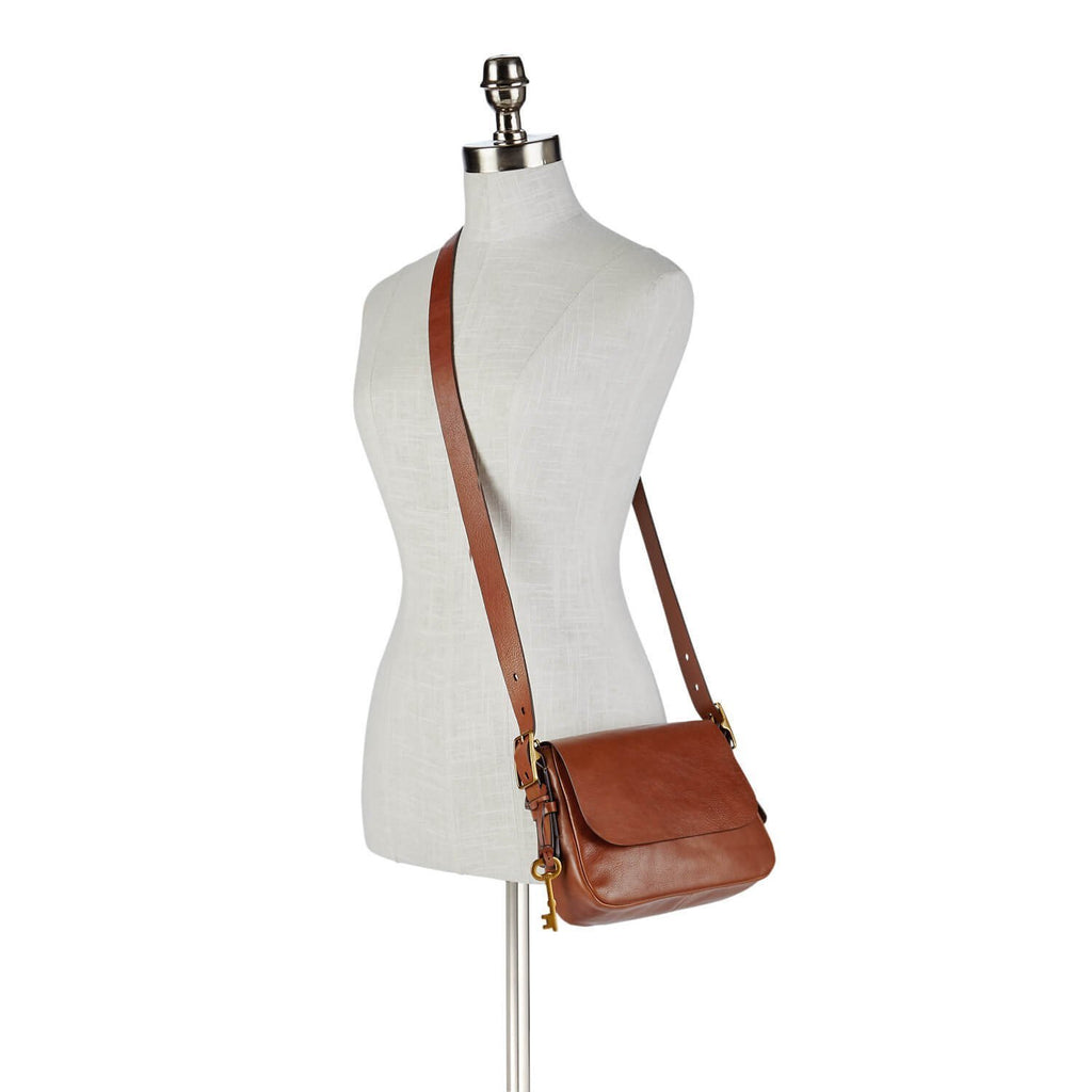 tas-ZB6759200-Fossil Harper Small Cross Body Bag Brown-Balilene