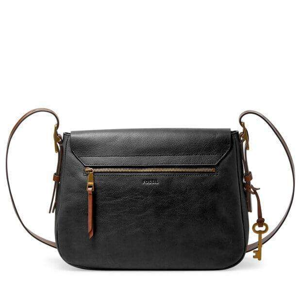 tas-Zb6760001-Fossil Harper Large Saddle Crossbody Black-Balilene