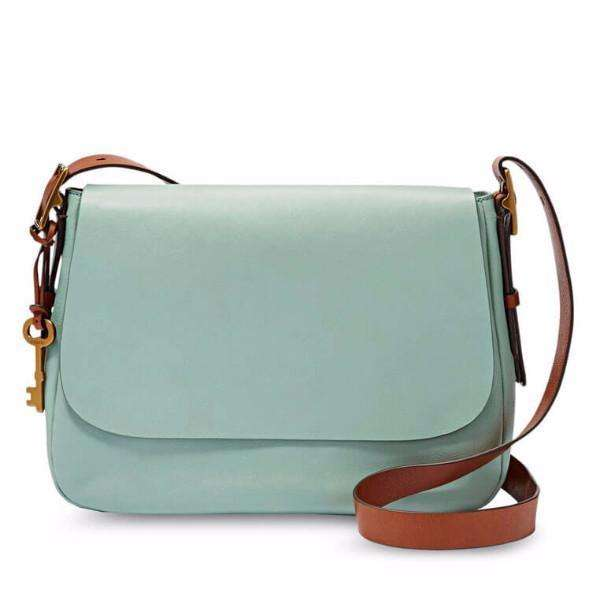 tas-ZB6760116-Fossil Harper Sling Bag Large Saddle Crossbody Seaglass-Balilene