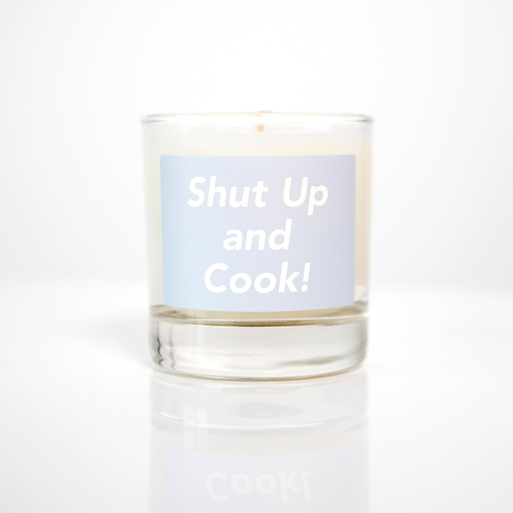 Shut Up and Cook! Candle