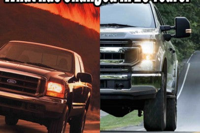 Old News: Comparing New Trucks To 1999 Super Duty Sales Brochure