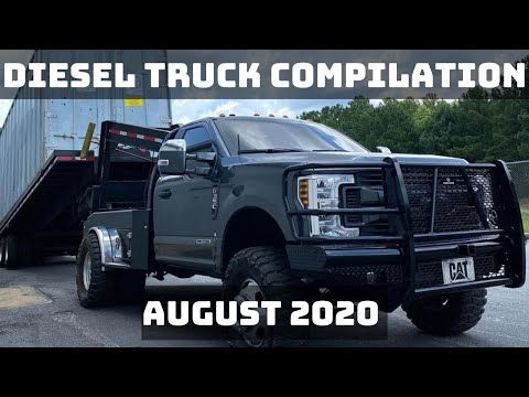 DIESEL TRUCK COMPILATION | AUGUST 2020
