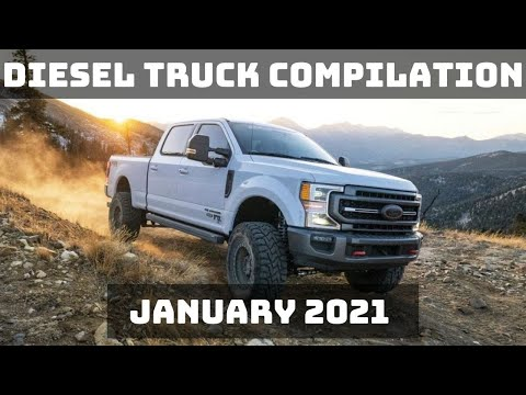 DIESEL TRUCK COMPILATION | JANUARY 2021
