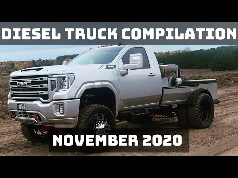 DIESEL TRUCK COMPILATION | NOVEMBER 2020