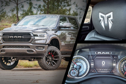 RAM HD K2 Package Available From Dealer: Lift, Wheels, And Tires