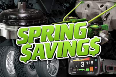 Spring Savings – Great Deals On Tons Of Parts!