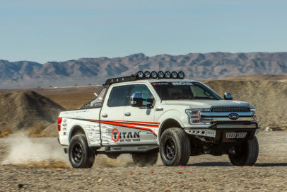 TITAN Fuel Tanks' Diesel-Powered F-150 Is Ready For Anything