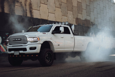 White Widow: Ryan Zeller's 2019 Ram 3500