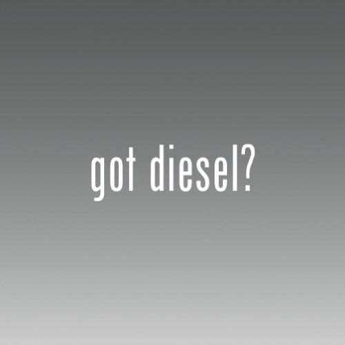 Got diesel Logo sticker vinyl decals- Die Cut Decal Bumper Sticker For Windows, Cars, Trucks, Laptops, Etc. - DieselTrucks.com
