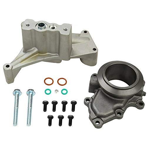 BLACKHORSE-RACING for 1999.5-2003 Ford 7.3 Powerstroke Diesel Turbo Pedestal+Bolts & Exhaust Housing - DieselTrucks.com