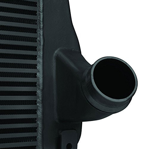Mishimoto MMINT-DMAX-06BK Performance Intercooler Fits Chevrolet 6.6L Duramax 2006-2010 Black - DieselTrucks.com