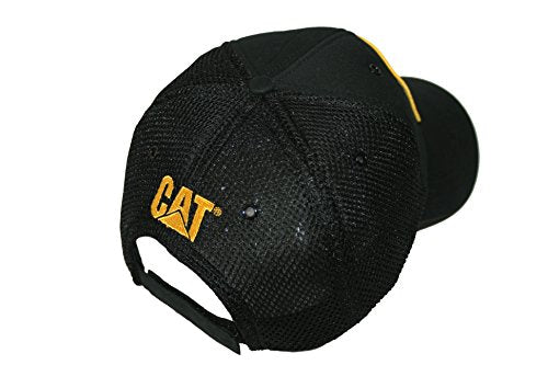Caterpillar CAT Vintage Diesel Power Black Mesh Cap - DieselTrucks.com