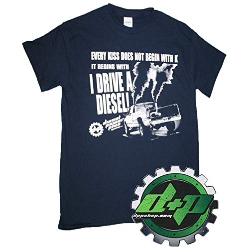 Diesel Power Plus Every Kiss Does not Begin with K Shirt Cummins Powersrtoke Duramax Pulling Tee (Large) - DieselTrucks.com