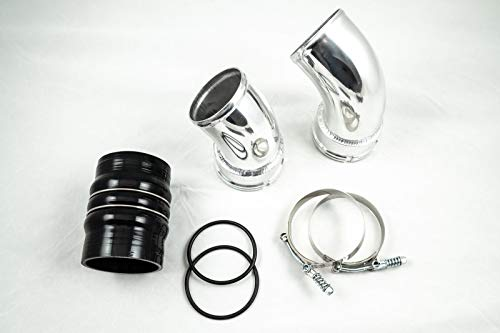 Cold Side Intercooler Pipe & Boot Kit 2006-2010 GM 6.6L LBZ LMM Duramax Diesel - DieselTrucks.com