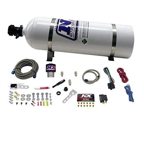 Nitrous Express NXD12002 NXd Stacker4 Diesel Nitrous System with 15 lbs. Bottle - DieselTrucks.com