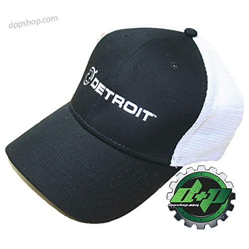 Cummins L/XL Detroit Diesel Fitted Ball Cap semi Trucker hat Gear mesh Flex fit Stretch - DieselTrucks.com