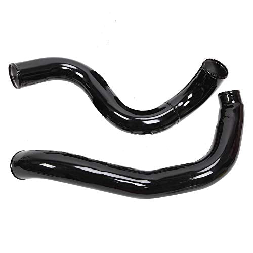 Turbo Intercooler kit Pipe Boot for Ford 6.0L CAC Intercooler Pipe Boot kit 03-07 Tube Powerstroke for Ford F250 F350 F450 F550 (Black) - DieselTrucks.com