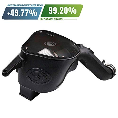 S&B Filters 75-5092D Cold Air Intake For 2010-2012 Dodge Ram Cummins 6.7L (Dry Extendable Filter) - DieselTrucks.com