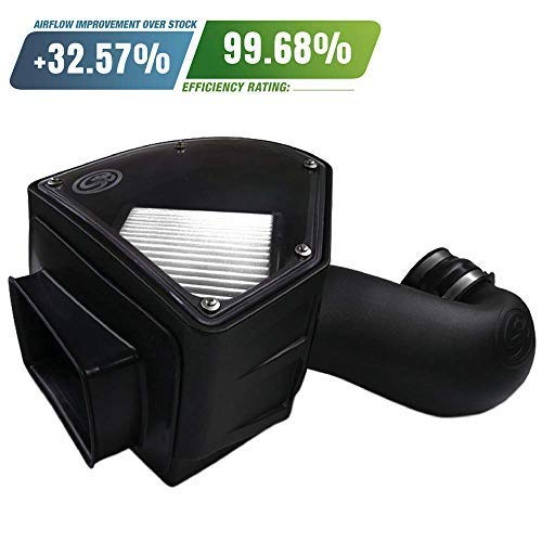 S&B Filters 75-5090D Cold Air Intake For 1994-2002 Dodge Ram Cummins 5.9L (Dry Extendable Filter) - DieselTrucks.com