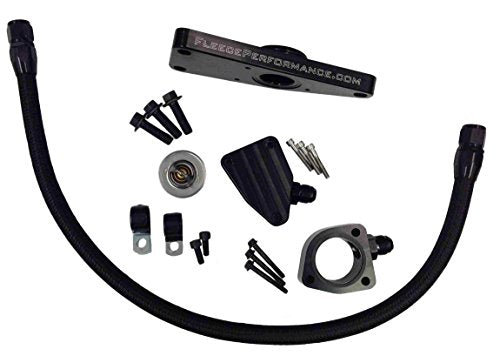 Fleece Performance Engineering FPE-CLNTBYPS-CUMMINS-6.7 Coolant Bypass Kit Compatible with 2007.5-2018 Dodge Ram 6.7 Cummins Diesel - DieselTrucks.com