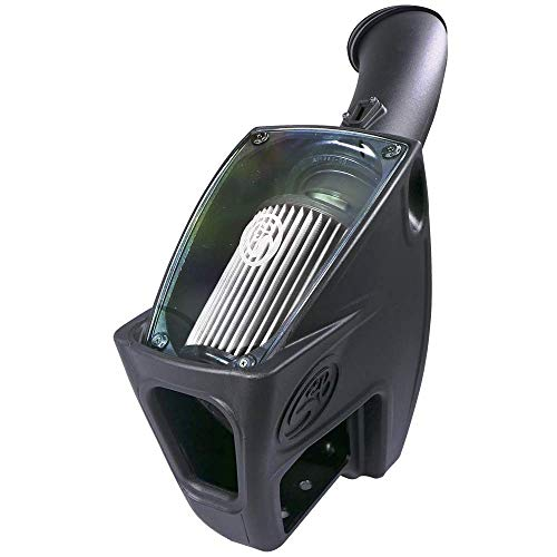 S&B Filters 75-5104D Cold Air Intake For 2011-2016 Ford Powerstroke 6.7L (Dry Extendable Filter) - DieselTrucks.com