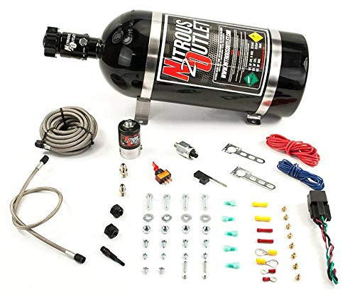 Nitrous Outlet Universal Diesel Single Nozzle Dry System (35-200HP) (No Bottle) - DieselTrucks.com