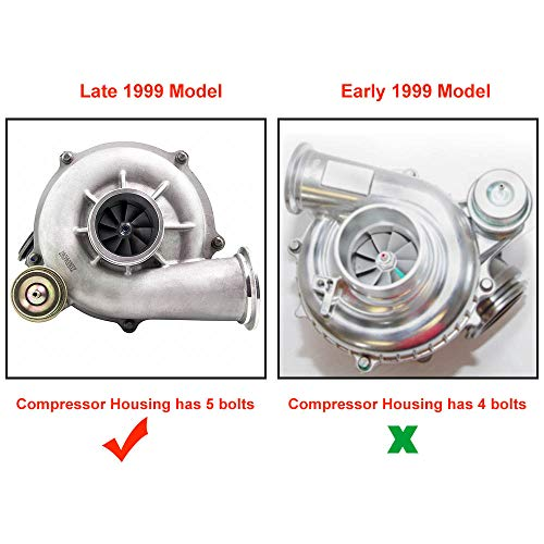 Tuningworld GTP38 GTP38R Upgrade Turbo Turbocharger for Ford 7.3L Powerstroke Excursion F Series F-250 F-350 F-450 F-550 Diesel Super Duty Turbocharger - DieselTrucks.com