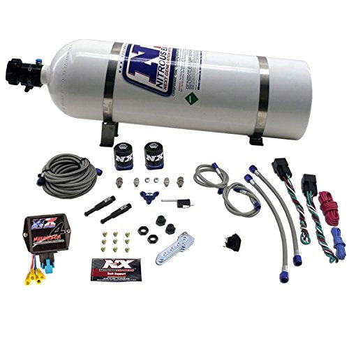 Nitrous Express NXD4000 SX2d Dual Stage Diesel System with Mini Progressive Controller - DieselTrucks.com