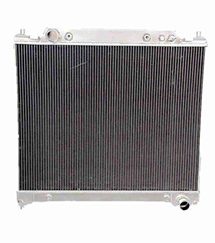 Blitech 3 Row Aluminum Radiator Fits For 1995 96 97 Ford F250 F350 7.3L Powerstroke V8 - DieselTrucks.com