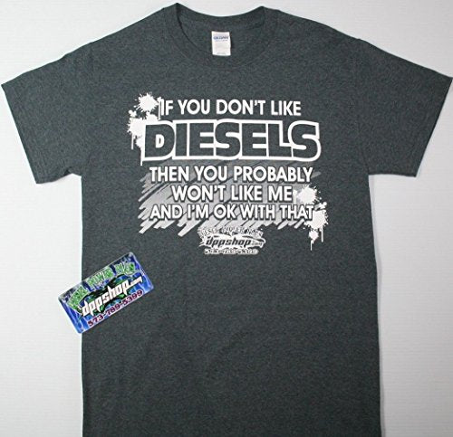 Diesel Power t Shirt tee Short Sleeve Duramax Cummins Powerstroke Apparel Gear 2XLARGE 2XL - DieselTrucks.com